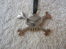 """Lot Of 20 """" NOS """" Vexcon Skull And Crossbone Pendants / Charms """" GREAT LOT """""""