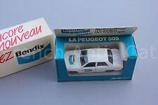 U644 Solido rare voiture 1/43 1312 BENDIX Peugeot 505 surboite ALLIED EdL limité