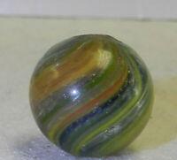 10006m Onionskin Lutz Vintage German Handmade Marble .67 Inches
