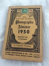 The British Journal Photographic Almanac Hardback Book 1950