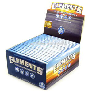 ELEMENTS King Size Rolling Papers 50 Booklets