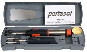 NEW Portasol Gas Soldering Iron Superpro 125 Kit Professional Butane  SP-1K 2021