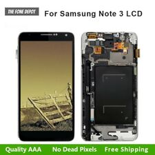 For Samsung Galaxy Note 3 N9005 Touch Screen LCD Display Digitizer + Frame Black