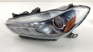 14-17 MASERATI GHIBLI M157 DRIVER LEFT FRONT HEADLIGHT HEAD LIGHT AFS XENON OEM