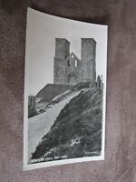 Early Kent postcard  - Reculver Church West front - Nr Herne Bay