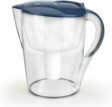 Water Pitcher Purifier Filtration Remove Fluoride Lead Chloramine Bpa-Free 3.5L
