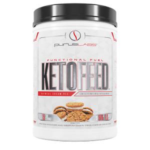 Purus Labs KetoFeed 579 Grams 15 True Servings Functional Fuel Low Glycemic Food