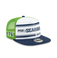 New Era Seattle Seahawks Official NFL Established Collection Snapback Cap Hat