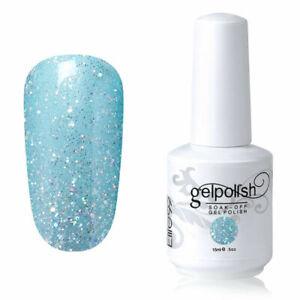 Elite99 UV LED Color Gel Nail Polish 15ML Lacquer Top Base Set Manicure Decor