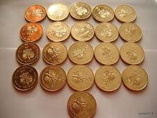 Poland 2 ZL Complete Set 21 Coins 2011 NG (Billig)