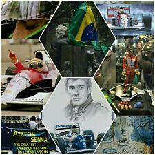 Ayrton Senna Bildaufsteller A4 Drehbar Kugelgelagert sehr Dekorativ