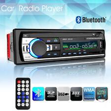 1DIN Coche Radio Estéreo Bluetooth Autoradio reproductor MP3 USB/SD/AUX/FM 12V