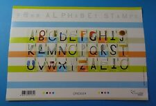 Stamps * Hong Kong * SC 1126 * Alphabet Letters * MNH * 2004 * Sheet of 30