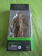 Star Wars The Black Series Han Solo (ENDOR) Figure Hasbro 2020 NEW