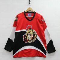 Vintage Ottawa Senators Starter Jersey Size Medium 90s NHL Hockey