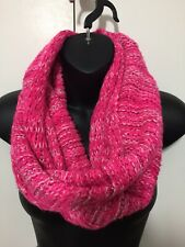 NWOT Hollister Pink Knitted Infinity Scarf One Size