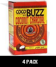 4X CocoBuzz Hookah Charcoal - 432 Pieces Total Coconut Charcoal Coals Starbuzz