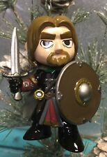 "Custom BOROMIR Christmas Holiday 3"" Ornament Lord Of The Rings LOTR Upcycled"