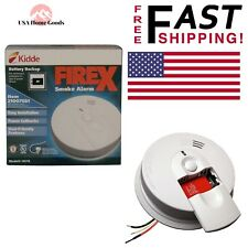 Kidde I4618 - 120V Ac/Dc Smoke Alarm with Battery Backup Fire Sensor Hard Wired
