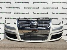 VW GOLF ESTATE AND JETTA 2005-2011 FRONT BUMPER IN WHITE COMPLETE [V311]