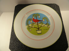 D.H. Holmes Four Calling Birds Plate