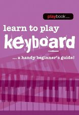 Playbook Learn to Play Keyboard Sheet Music Book NEW  014043455