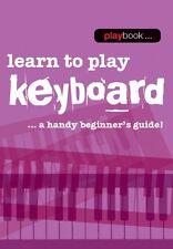 Playbook Aprende A Tocar Teclado Libro De Partituras Nuevo 014043455