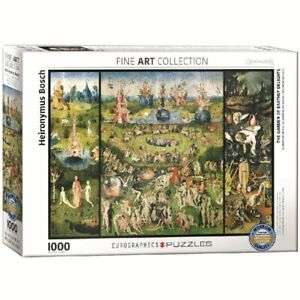 Eurographics,  Heironymus Bosch: The Garden of Earthly Delights 1000 Piece Puzzl