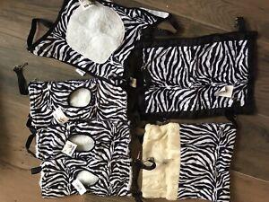 Zebra Pack Rat Hammocks, Bunkbeds Pouch Bulk Buy For Chinchillas Ferrets New