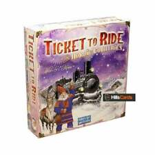 Ticket to Ride Nordic Countries Board Game | 2-3 Player | Age 8+ | New & Sealed