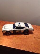 Hot Wheels 1969 Vintage Redline STATE POLICE CRUISER Oldsmobile Cutlass 442 Car