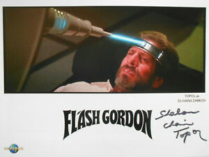 CHAIM TOPOL original signiert – GROSSFOTO - FLASH GORDON