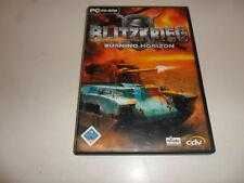 PC  Blitzkrieg - Burning Horizon