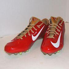 Nike VAPOR CARBON 2.0 ELITE TD PF Pro Football Cleat 49ERS 657441 628 MEN 11.5