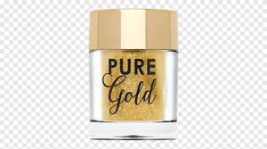 Too Faced Pure Gold Ultra-Fine Face & Body Glitter Gold 0.07 oz, NIB