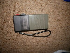 VINTAGE REALISTIC MINISETTE DICTAPHONE COMPLETE WITH TAPE 14-1015A