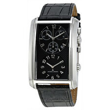 Jacques Lemans Dualtimer Black Dial Mens Watch 1-1392A