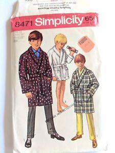 PATTERN adult Mens S-XL Shirt /& Pants PLUS  Boys S-L top slacks New sewing s4760