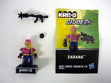 KRE-O GI JOE ZARANA Mini Action Figure Kreo Kreon Dreadnok COMPLETE