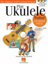 PLAY UKULELE TODAY STARTER PACK - UKULELE METHOD BOOK/ONLINE AUDIO/DVD 703290