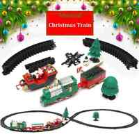 Christmas Musical Train & Track Toys Set Kids Party Birthday Gift Decoration USA