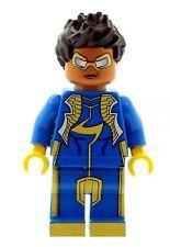 Custom Designed Minifigure - Superhero Static Shock Printed On LEGO Parts