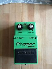 Boss PH-1 Silver Screw Japan 1980 Phaser effects pedal Vintage MIJ Long Dash