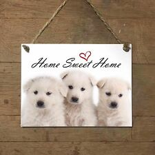 PASTORE MAREMMANO Home Sweet home mod4 Targa cane piastrella ceramic tile dog
