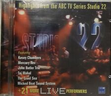 HIGHLIGHTS FROM THE ABC TV SERIES STUDIO 22 CD Made In Australia 2002 Very Rare