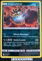 Carte Pokemon ENGLOUTYRAN 136/236 Holo REVERSE Soleil et Lune 12 SL12 FR NEUF