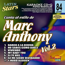 Karaoke Latin Stars 84 Marc Anthony Vol.2