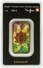 1 oz .9999 Gold Bar Swiss Gold w/ Hologram Sealed in Assay #A438
