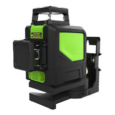 Green Laser Level 8 Line Self Leveling Outdoor 360° Rotary Cross Measure Tool