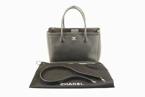 Chanel Cerf Executive Tote w Shoulder Strap Excellent Cond. - Free Ship USA
